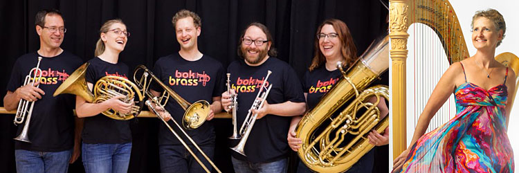 Bok Brass Quintet & Gianetta Baril