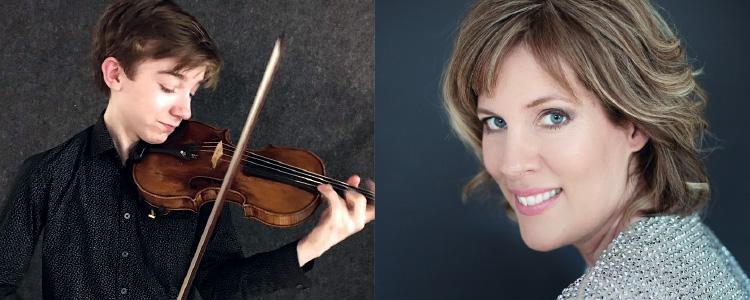 Jacques Forestier violin Susanne Ruberg-Gordon piano