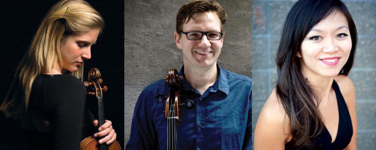 Laura Veeze violin Rafael Hoekman cello Sarah Ho piano